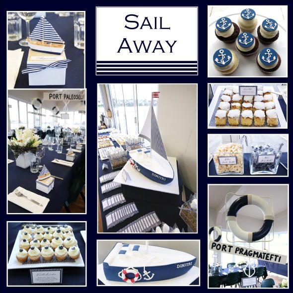 Nautical baby shower  Nautical party  http   www lepetitparty com au store pc Nautical Sailor Party Theme c22 htm