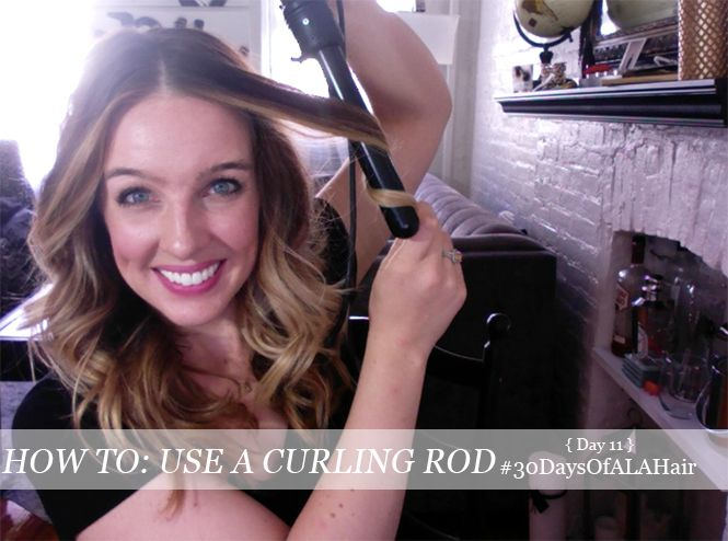 . How To Use A Curling Rod #30DaysOfALAHair .