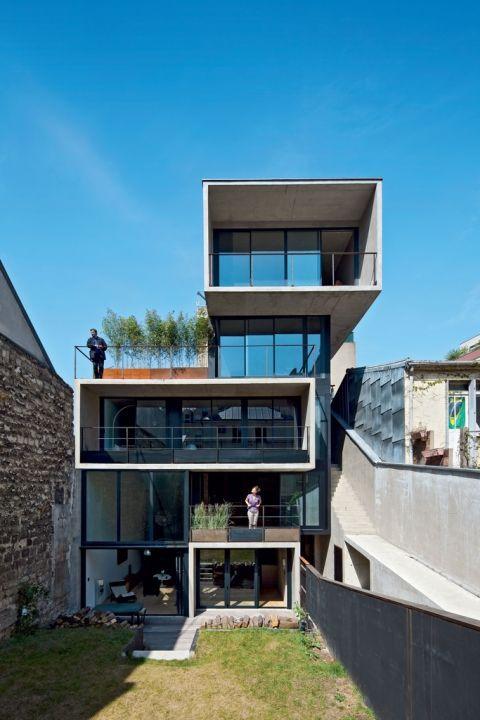 3 logements - Paris 19e- Architecte Franck SALAMA