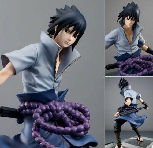 Anime-Naruto-Shippuuden-Sasuke-CHN-Ver-24cm-9-Figure-New-NO-Box