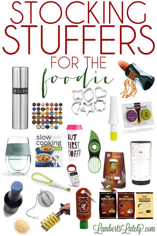 Stocking Stuffer for the Foodie