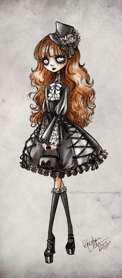 Gothic Lolita by *Lithium-Tears on deviantART