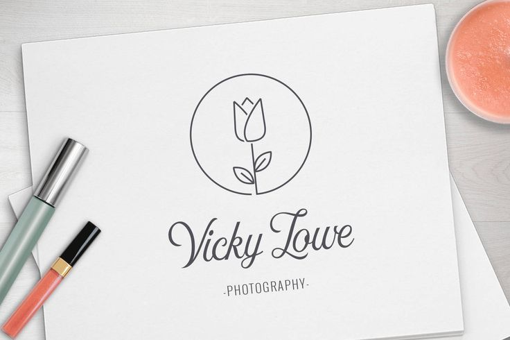 Photography Logo, branding package, minimalist logo, modern logo, custom logo, watermark, business logo, branding kit by MandyandCo on Etsy