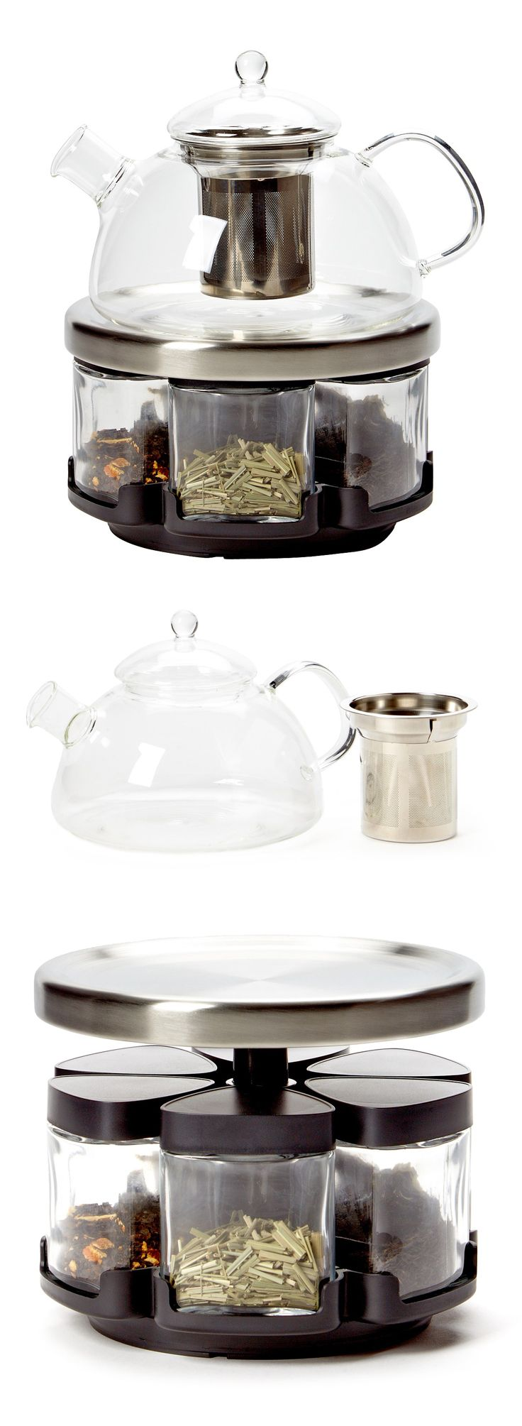Infusions | tea pot and rack set