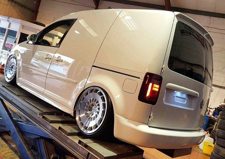 @finlay_2k This Van Just Keeps Getting Better #ModifiedVans #Volkswagen #Caddy #Caddy2K GO FOLLOW @finlay_2k by modifiedvans
