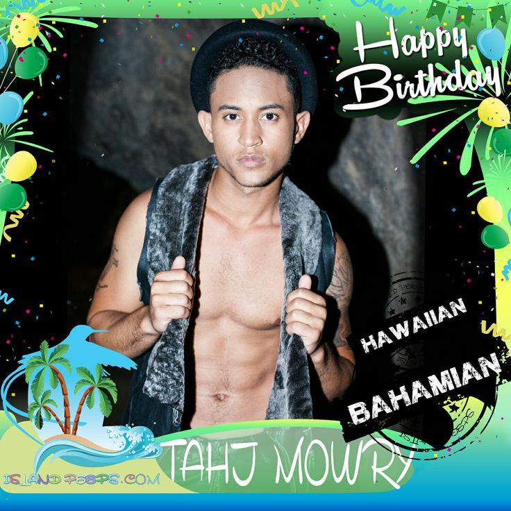 Happy Birthday Tahj Mowry!!! Actor born in Hawaii of Bahamian descent!!! Today we celebrate you!!! @tahj_mowry #TahjMowry #islandpeeps #islandpeepsbirthdays #smartguy #kimpossible #hawaii #bahamas #babydaddy #fullhouse