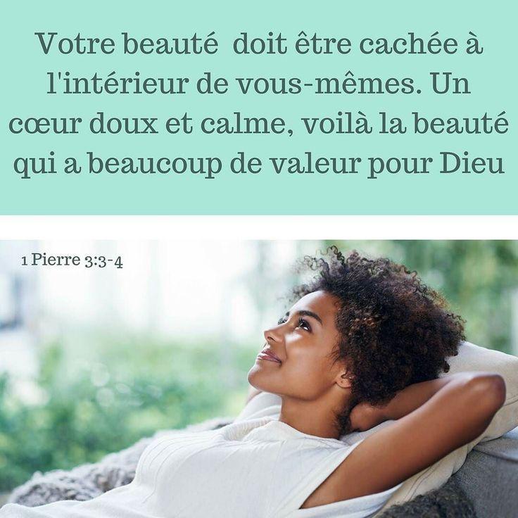 la beauté aux yeux de Dieu n'est pas nécessairement ce que notre regard ou notre coeur dit ! #versetdujour #labible