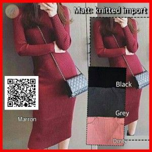 Dress Olla Knitted MTFJL01
