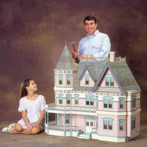 Real Good Toys Queen Anne Dollhouse Kit - 1 Inch Scale - HS6600
