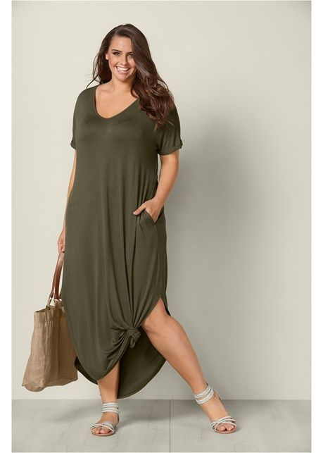 319645355988c Casual maxi dress in 2019 | travel outfits summer | Casual party ...