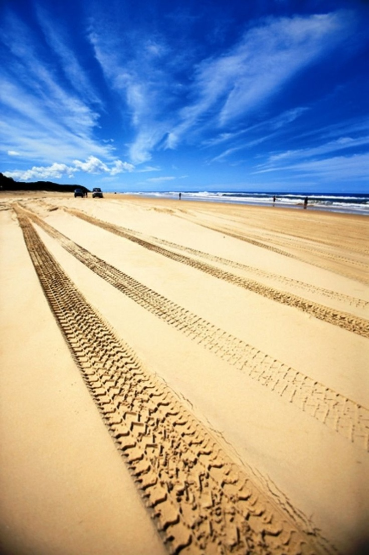 Fraser Island (Australia) as a whole. So many breathtaking places on it!