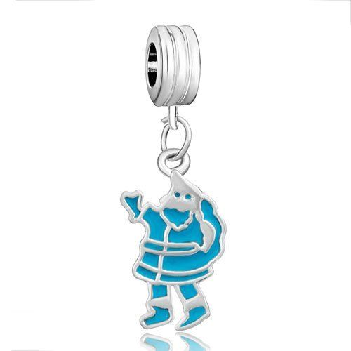 Pugster Blue Santa Claus Charm Bead Fit Pandora Chamilia Biagi Charm Bracelet Pugster. $9.99. Fit Pandora, Biagi, and Chamilia Charm Bead Bracelets. Unthreaded European story bracelet design. Free Jewerly Box. Money-back Satisfaction Guarantee. Pugster are adding new designs all the time