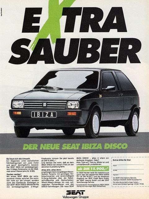 1990 SEAT Ibiza Disco