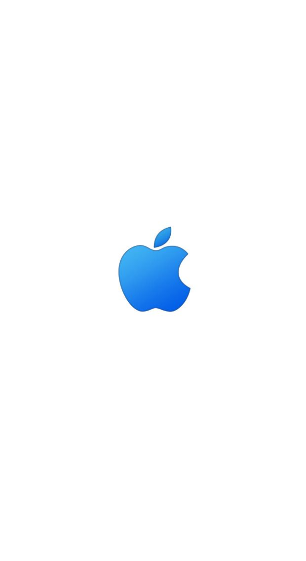 Blue Apple Logo Wallpaper - Bing images