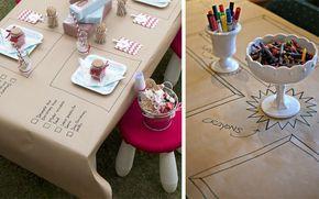 table enfant mariagenappe craft