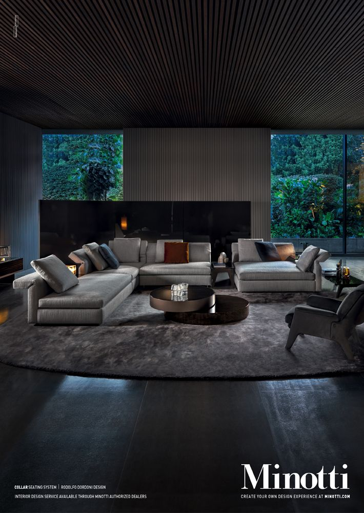 Collar seating system, Rodolfo Dordoni Design #adv #collar #sofa #seatingsystem #rodolfodordoni