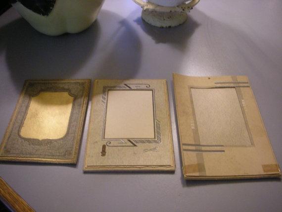 vintage paper frames by GGHRWA01 on Etsy, $5.99Paper Frames, Vintage Paper