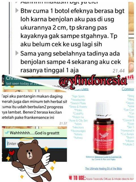Testi_ frankincense oil #youngliving#essential oil#testimony#frankincense#ylindonesia