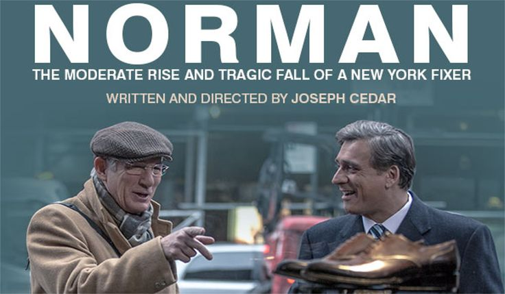 Check out the latest Movie Trailer for the upcoming drama film, Norman: The Moderate Rise and Tragic Fall of a New York Fixer:, starring Richard Gere. #normantheriseandtragicfallofanewyorkfixer