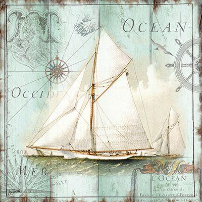 Me han encantado estas láminas de motivos marinos  Ideales para enmarcar.   Enlace:   http://www.roaringbrookart.com/gallery/details.php?ima...