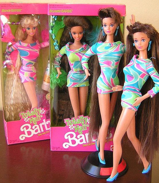 Totally Hair Barbie. The Barbies with the super long hair were my FAVORITES. I spent hours doing their hair!!!