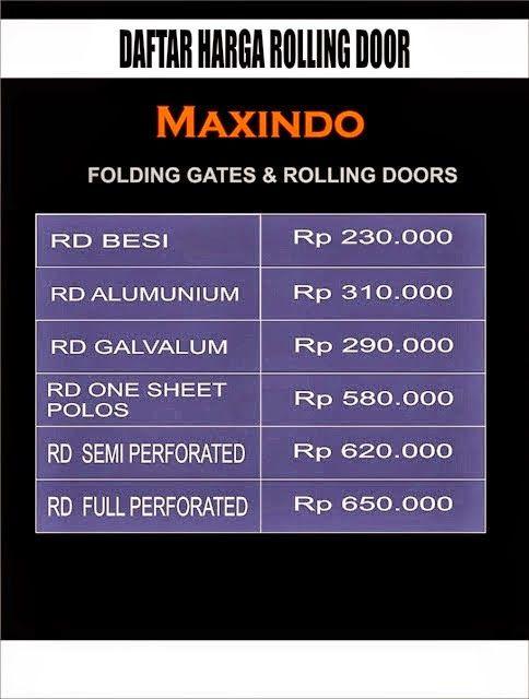 DAFTAR -HARGA- FOLDING- GATE- PER- METER- MURAH- BEKASI | HARGA ROLLING DOOR MURAH BEKASI | JUAL FOLDING GATE DAN ROLLING DOOR PER METER MURAH  BEKASI