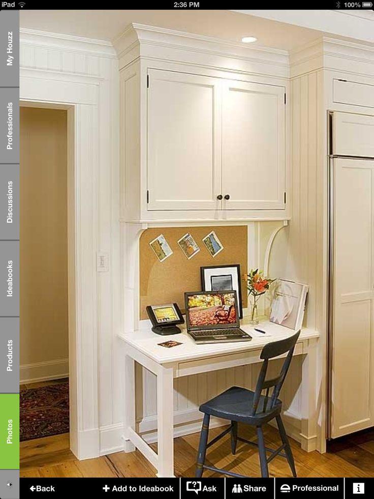 Small kitchen desk