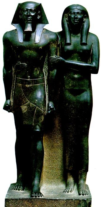 menkaure and khamerernebty Menkaure and queen khamerernebty essaysi have chosen to write about the statue of menkaure and queen khamerernebty the statue of the king and queen was found in the valley temple of the.