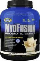 GASPARI NUTRITION MyoFusion Probiotic 2268g - to odżywka bogata w proteiny. Zwiększa Twoją moc podczas treningów i wspiera procesy anaboliczne. Skutecznie poprawia pracę układu trawiennego. #gaspari #sport #zdrowie #fitness #suplementy