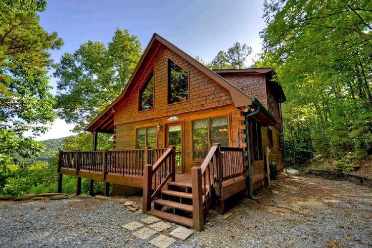 Check out this great rental cabin in Blue Ridge Georgia with nightly rates!