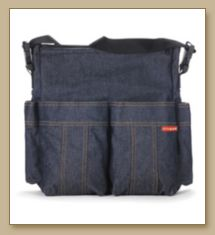 Bolso Denim, Denim bolso de haba, Denim Tote Bag