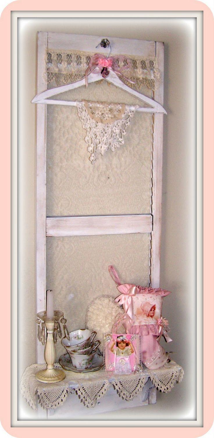 171 best Shabby Chic Shelves images on Pinterest Shabby chic