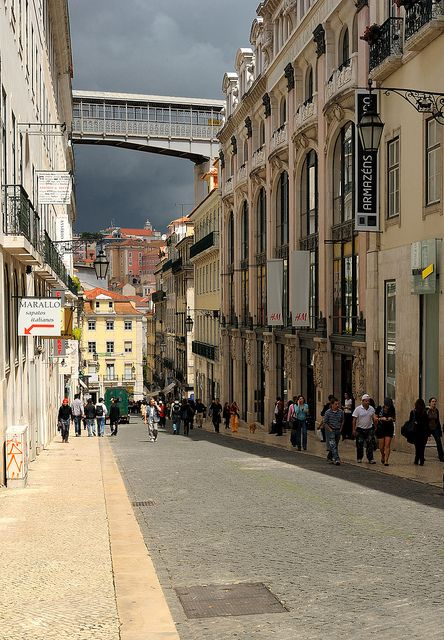 Streets of #Lisbon (by Sunsword & Moonsabre) #Portugal
