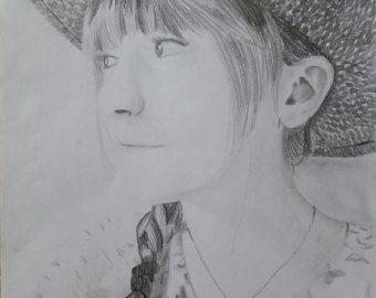 Sconto Portrait Ritratto a matita Doctor Who Rose e di EleonorArte