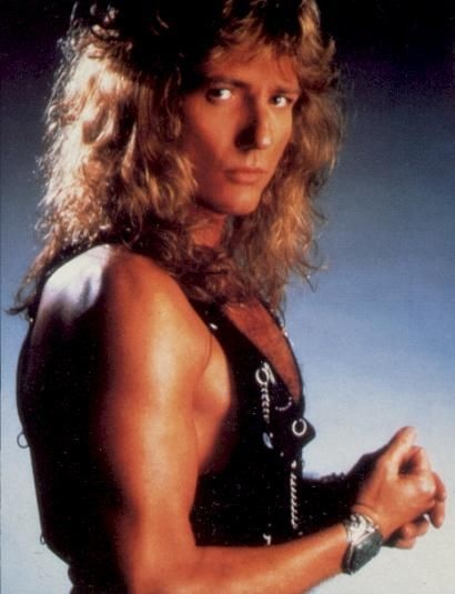 David Coverdale of Whitesnake...no one will ever forget that video