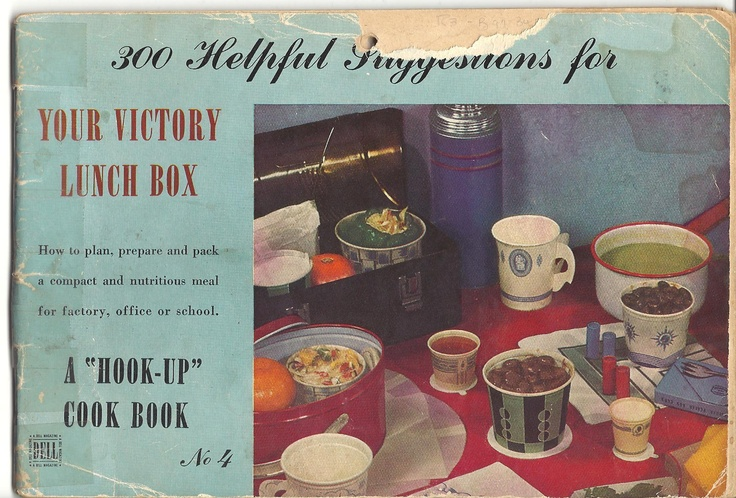 300 Helpful Suggestions for Your Victory Lunch Box, 1943