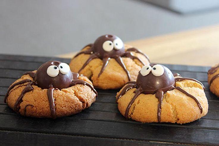 Spider cookies (cookies araignées) au Thermomix #TM5 #TM31