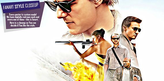 Mission impossible poster fan art rogue nation poster