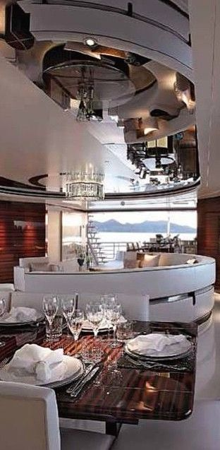 Inside a Yacht Luxury travel can be your lifestyle! UnleashYourLifestyle.com