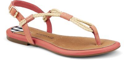 Sperry Top-Sider Lacie Sandal - grab these sandals with special details like rope and premium woven leather