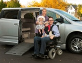 Handicap accessible rental vans! Perfect help for wheelchair bound family members. Company has great customer service too!