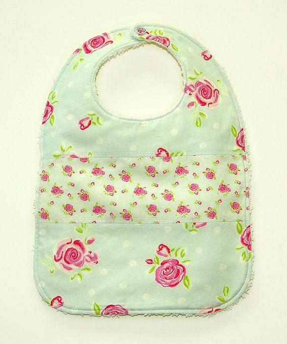 Burp cloth set pattern Baby bib pattern Burp clothes