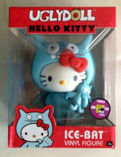 2013 SDCC Exclusive HELLO KITTY Ugly doll ICE BAT Costumed Variant LE 240 FUNKO