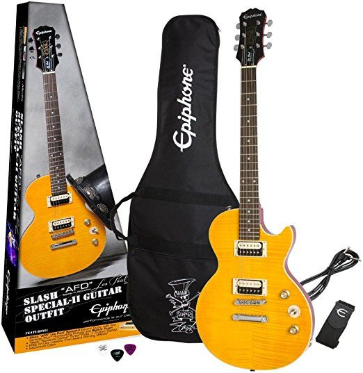 "Epiphone Slash ""AFD"" Signature Les Paul  Special-II Electric Guitar Includes Gig Bag    Electric Guitar Kits  Hollow Body Electric Guitar  Kids Electric Guitar  Kids Acoustic Guitar  Jackson Guitars  Electric Guitar For Kids  Fender Bass Guitar  Martin Guitars For Sale  Guitar Neck  Jackson Electric Guitar  Pink Guitar  Yamaha Electric Guitar  Custom Guitars  Blue Electric Guitar  Guitar Body  Ibanez Bass Guitar"