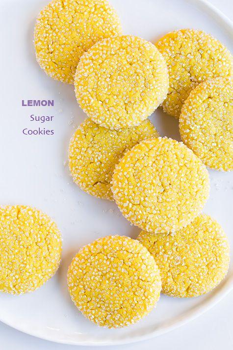 Chewy Lemon Sugar Cookies | Cooking Classy