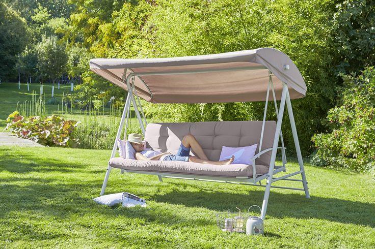 157 best images about ambiances jardin terrasse for Balancelle jardin carrefour