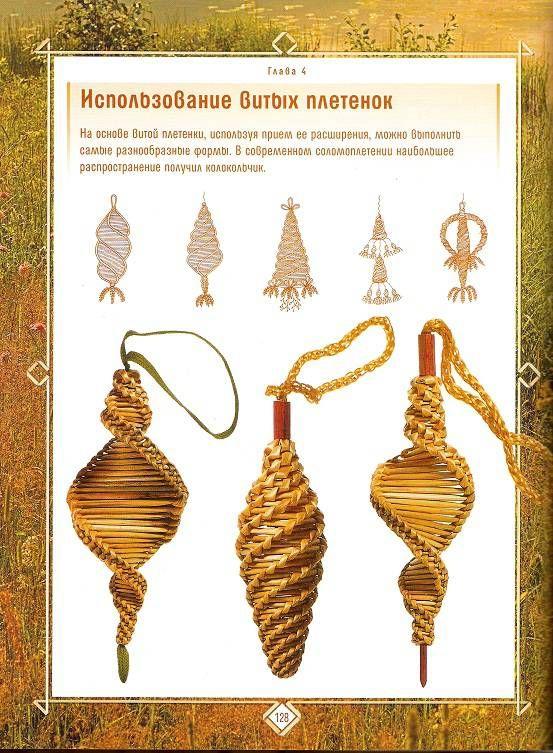 Иллюстрация 23 из 26 для Плетение из соломки: Техника. Приемы. Изделия | Лабиринт - книги. Источник: Oslik IA