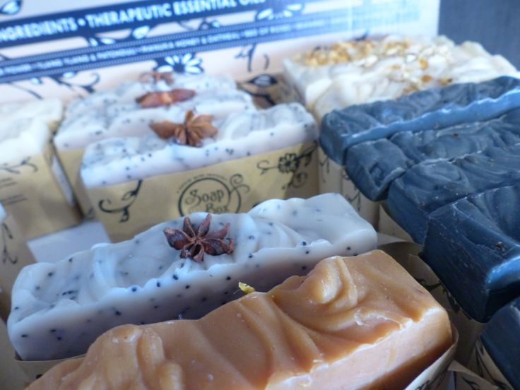 delicious handmade soap from Soapbox