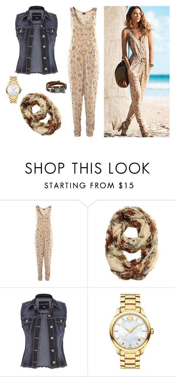 """""""#344"""" by mahira-muminovic ❤ liked on Polyvore featuring H&M, maurices, Movado, BillyTheTree, HM, jumpsuit and HMshop"""