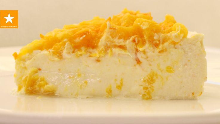 Творожная запеканка с апельсинами от Мармеладной Лисицы. Чизкейк рецепт ...